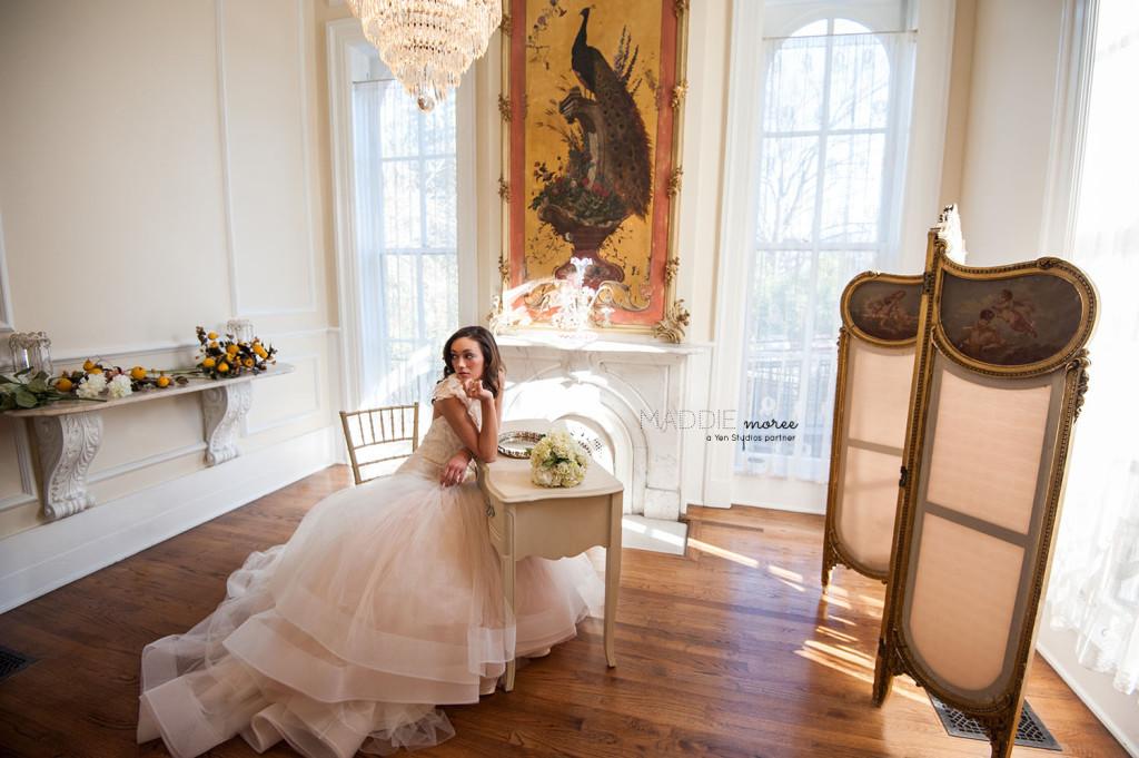 Bridal portrait annesdale