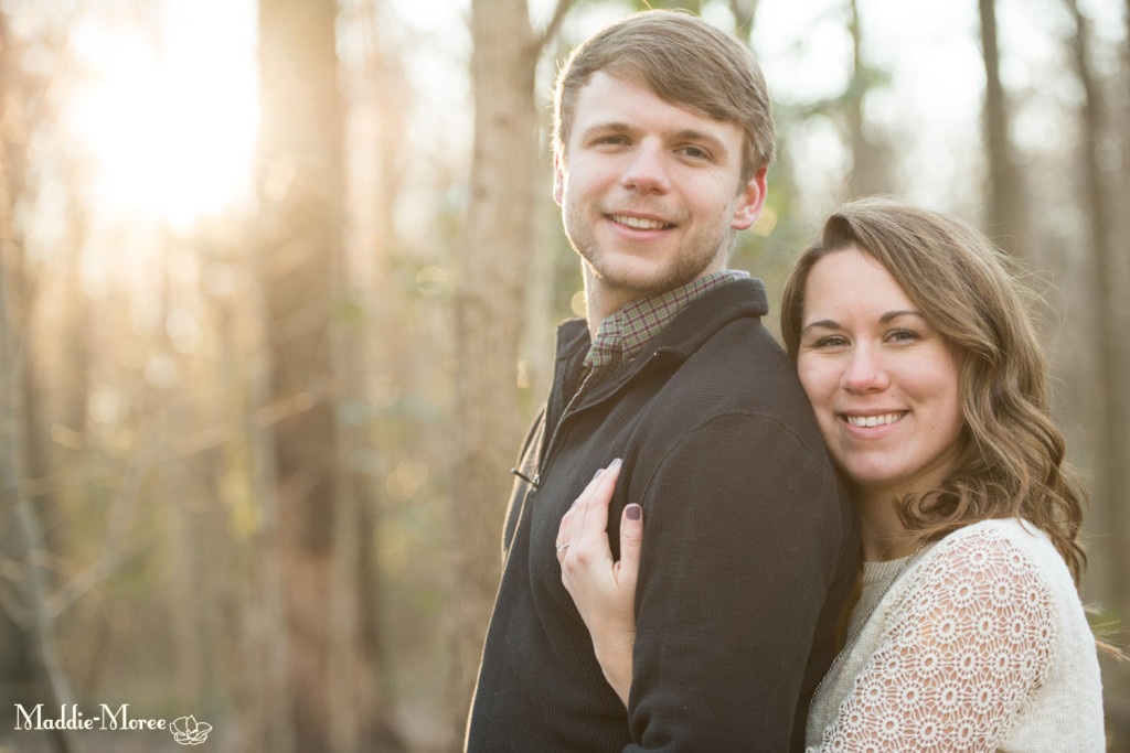 engagement winter lighting