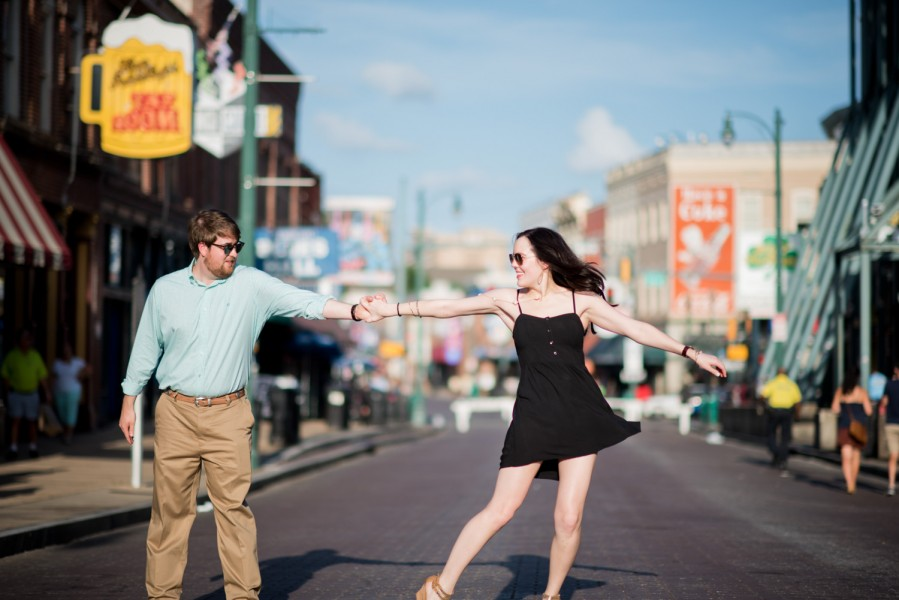 beale street dancing engagement