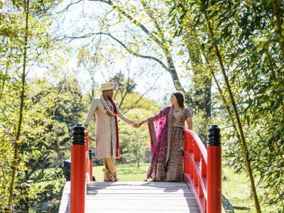 memphis botanic gardens bride groom portraits