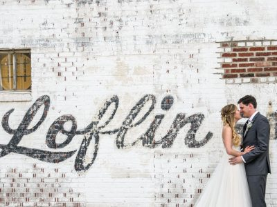 loflin yard wedding