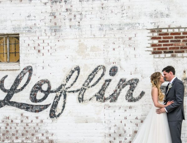 loflin yard wedding